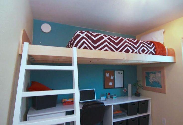 Ana Blanco | Construye una cama del desván como se ve en HGTV Ahorro Alaska | Free and Easy proyecto DIY y Planes de muebles