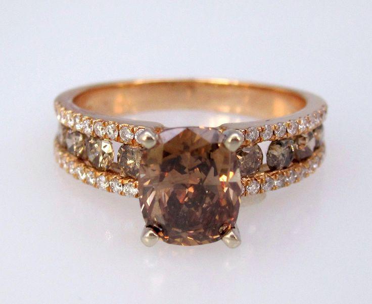 The 25 best Chocolate diamond rings ideas on Pinterest