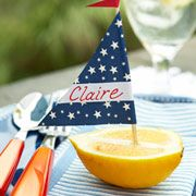 Looking to throw the perfect summer soiree? These nautical name cards will help you create a casual-yet-elegant table setting.