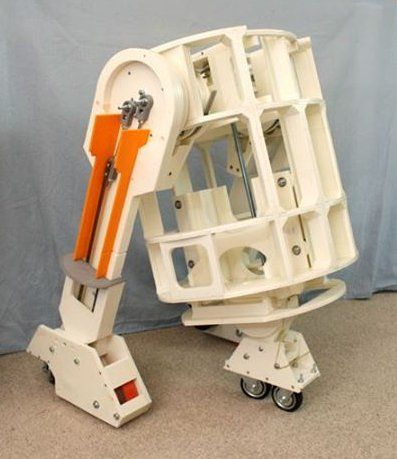 James Bruton Offering His Full-Sized, 3D Printed R2-D2 Robot Free on Github http://3dprint.com/52341/3d-printed-r2d2-robot/