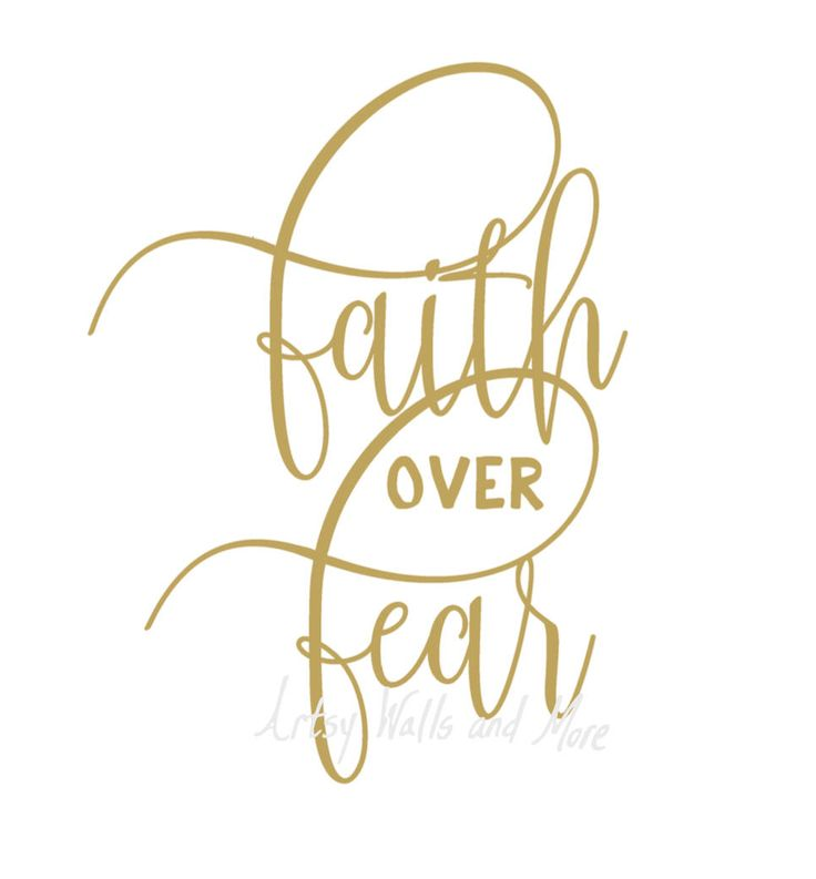 Faith over Fear svg, png, jpg, CUT file, Christian svg for Silhouette Cameo or Cricut, Christian faith t-shirt svg DIY idea by SvgArtsyWallsAndMore on Etsy