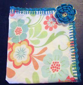 Crochet Tea Towels