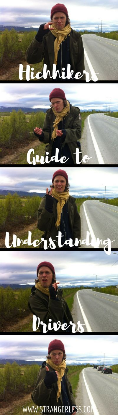 Signs and gestures vary from #culture to culture, so what to do when #hitchhiking in #Europe? Here's a visual #guide to understanding drivers!