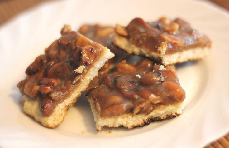 Как приготовить карамельное печенье с арахисом - рецепт, ингридиенты и фотографии