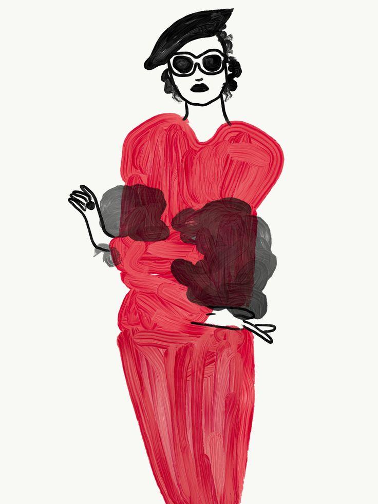 Fashion Illustration  By Ira SwatiManish