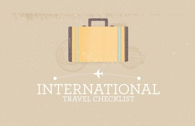Skip the travel nightmare of showing up at the gate minus your passport. Check all the boxes on our travel checklist then sit back, relax and enjoy the flight.