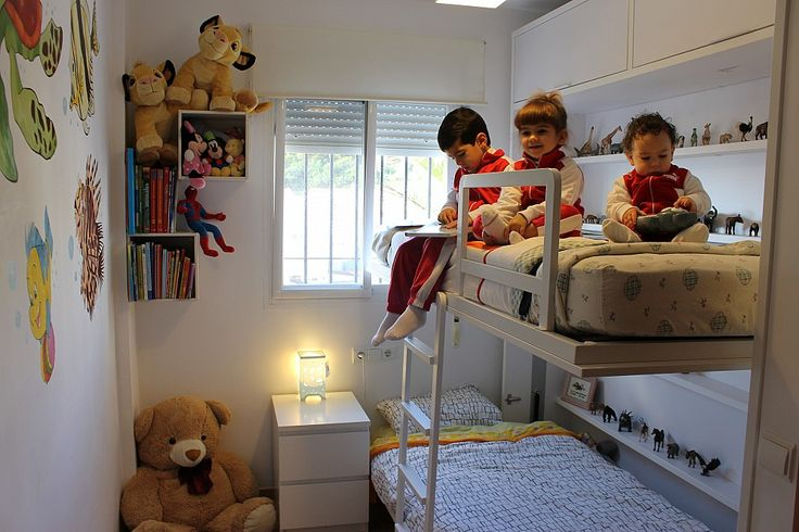 20 best images about literas on pinterest ikea hacks - Habitacion juvenil doble ...