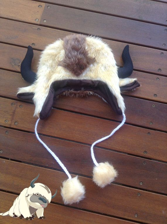 Hey, I found this really awesome Etsy listing at https://www.etsy.com/listing/114274431/new-appa-hat-avatar-the-last-airbender