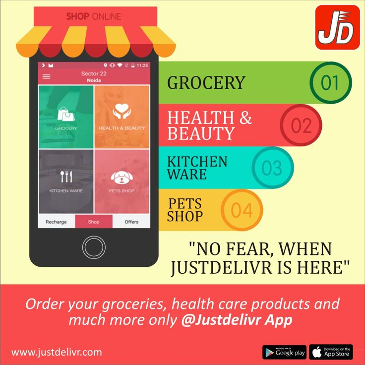 Forget the pain of going to the market and standing in the cues and burn your time. Now order your daily needs @Justdelivr by simply downloading the app: Download now https://play.google.com/store/apps/details?id=com.era.justdeliver&hl=en