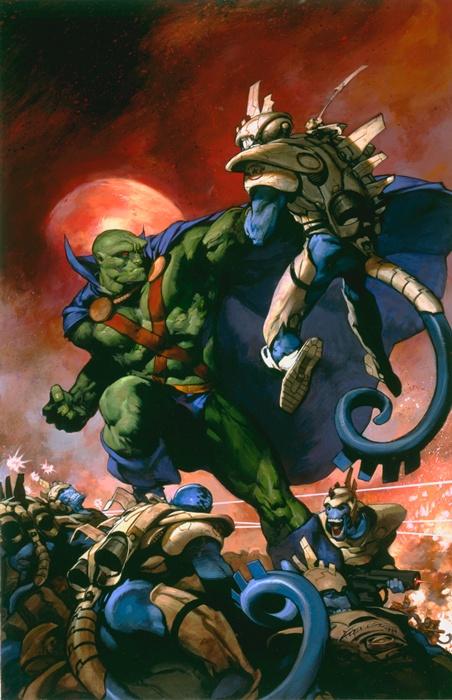 Martian Manhunter by Christopher Moeller