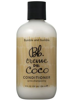 Bumble and Bumble Creme de Coco Conditioner Review: Hair Care: allure.com Restores moisture and shine to the hair