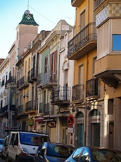 A street in Figueres, Spain