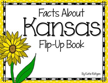 This is a fun and simple flip book that will be a great part of your Kansas Day celebration, or any time you're talking about the state of Kansas!  There are TWO versions: Black and white AND color, so you can pick which best suits your needs.  The book tells the following:*Kansas state flower*Kansas state animal*Kansas state tree*Kansas state insect*Kansas state bird*Kansas state reptile*Kansas state amphibianPlease ask me any questions you have about this product using the Product Q&A ...