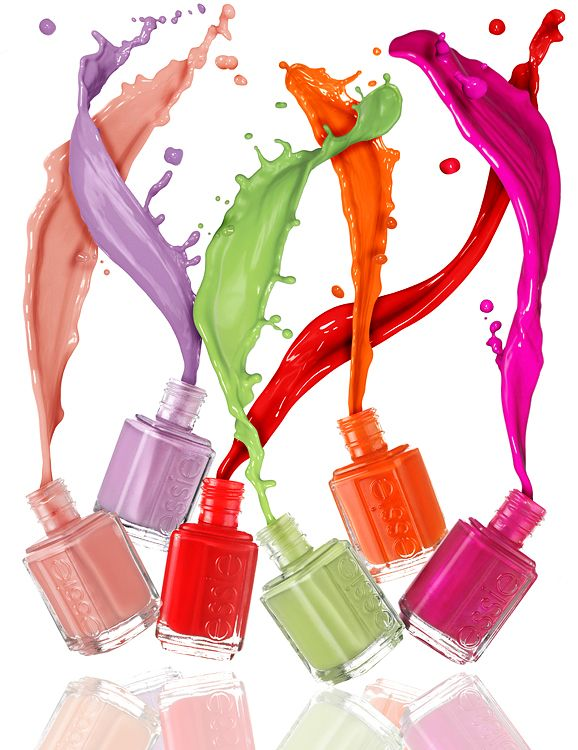 nail polish splash -