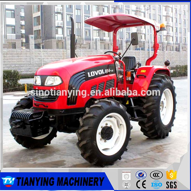 FOTON/LOVOL big farm tractor 85HP 4WD with Donaldson air