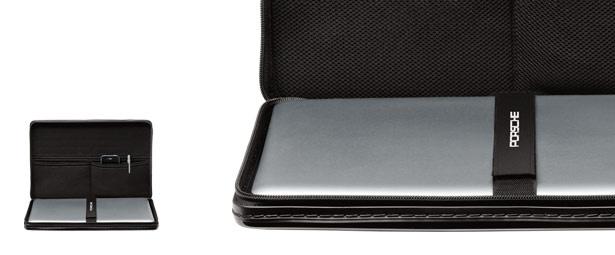 Porsche Design laptop case. We love their luggage too.