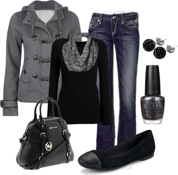 Love the black & grey!!