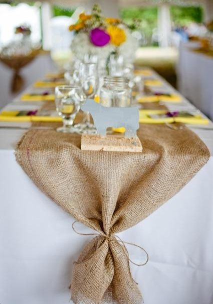 burlap baby boy showers | love it burlap it is and oddly enough i came across this burlap bow ...
