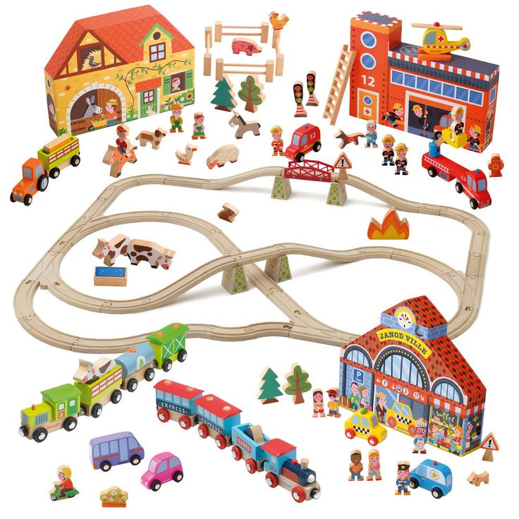 how to build a toy train track