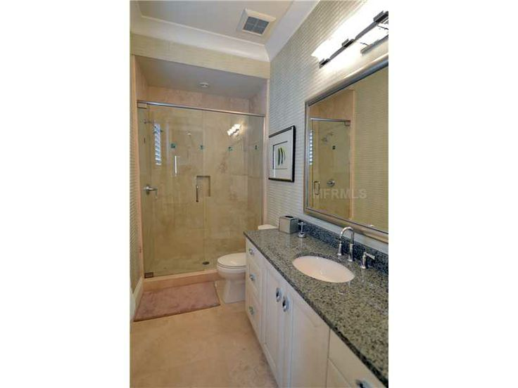an upstairs bathroom accessible from the bedroom nearest the multipurpose room - Nearest Bathroom