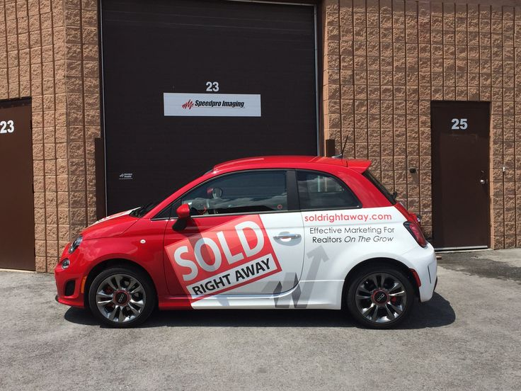 Eye-catching wrap by Speedpro Imaging Oakville! Get your business noticed!