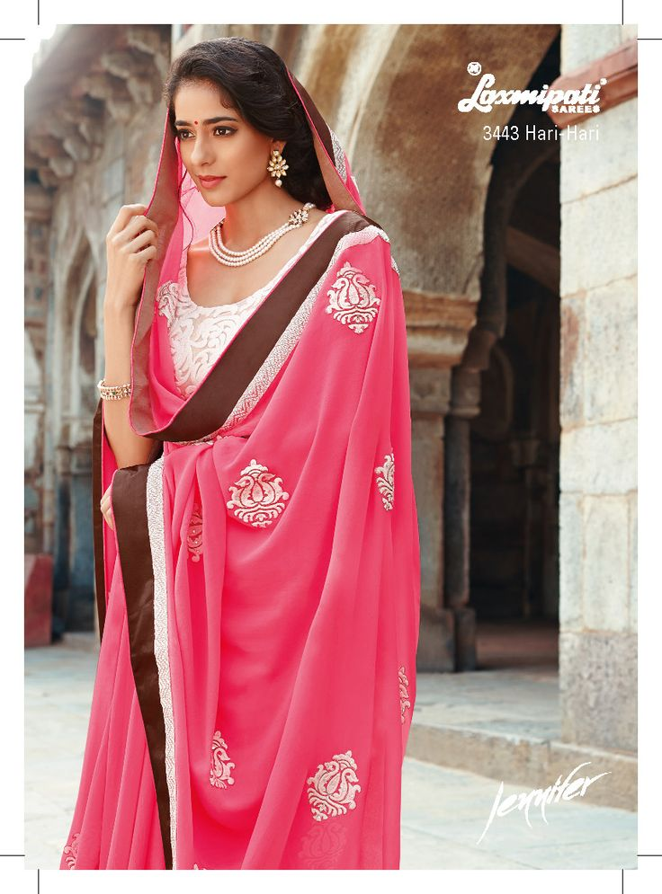 This is a classic piece with an ultimate combination of resham work on neon pink color and heavy resham work on net blouse.