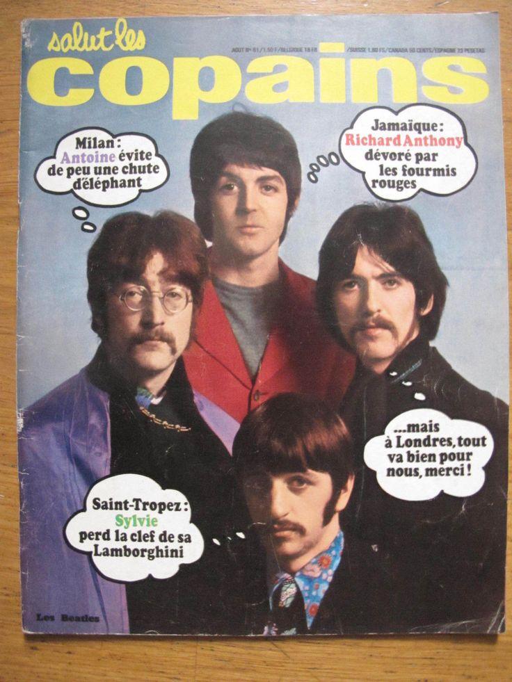 SALUT LES COPAINS N°61 - 1967 - THE BEATLES