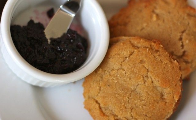 almond flour honey biscuits (great morning treat... freeze well)
