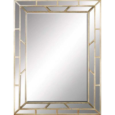 Paragon Aged Traditional Mirror & Reviews | Wayfair