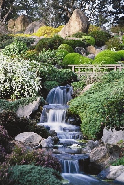 Japanese Garden Designs view in gallery japanese garden design blended with a western touch and sporting a buddha at its heart Cowra Japanese Garden Built To Foster Peace One Of The Most Beautiful Gardens In