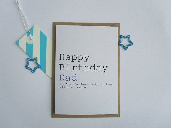 25+ Best Ideas About Happy Birthday Dad Cards On Pinterest