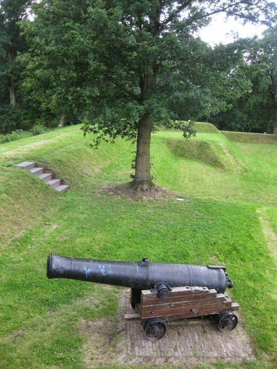 Fort Werk IV, Bussum, Noord-Holland.