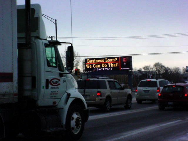 Electronic signs and LED Billboard, nothing gets the message out to more people as fast as this!