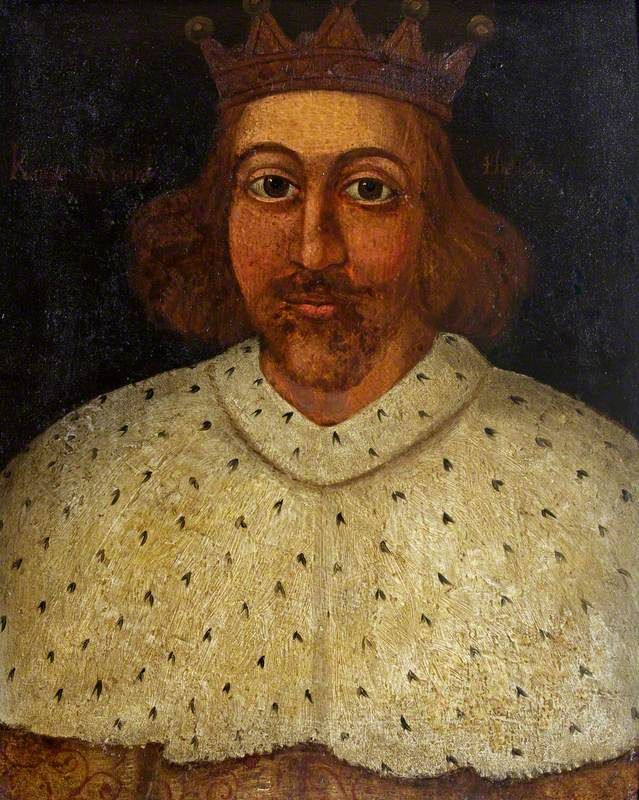 Richard II (1367–1399) British (English) School National Trust, Westwood Manor. Artuk.org