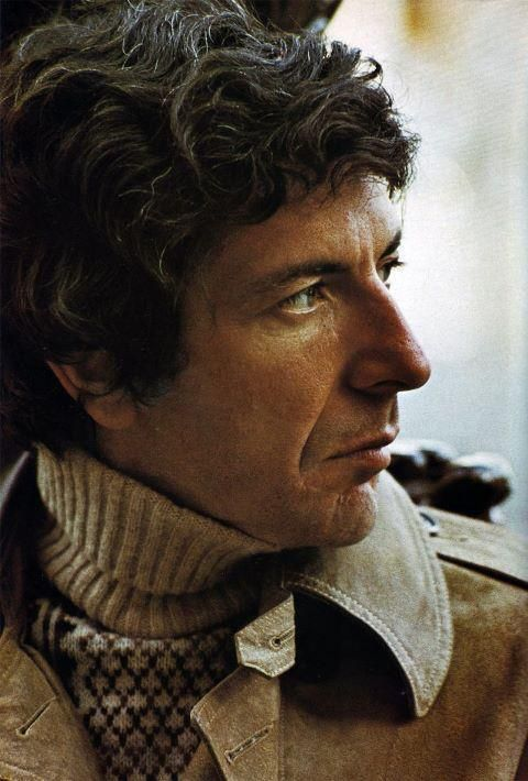 °lc° Leonard Cohen, Amsterdam, Netherlands April 1972. photo by  Hanekroot/Redferns. Yes, a wonderfull man in many ways !!