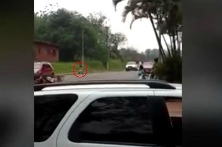 Despiu-se no meio da rua para reconquistar ex-namorado