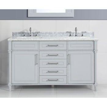 Vanities costco and 60 vanity on pinterest for Ove salle de bain