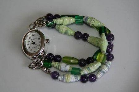 Plastic bag beads DIY
