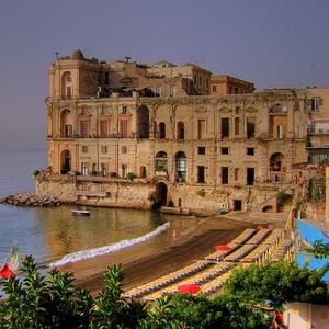 Palazzo Donn'Anna is a historic residence in Naples, Italy.