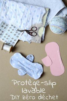 DIY – Protège-slip lavable | Clémentine la Mandarine