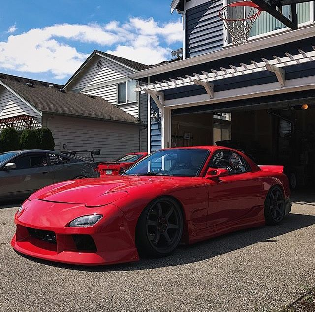 #Mazda #Rx7_FD #Modified #Slammed #Lowered