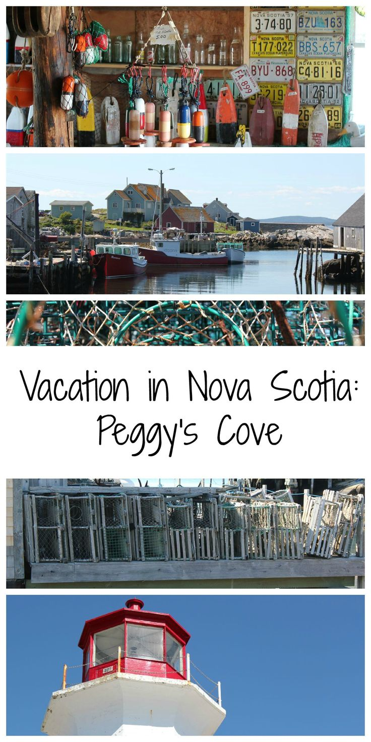Truly a sight to see! While in Nova Scotia we stopped in Peggy's Cove for the afternoon. #vacation #NovaScotia #PeggysCove