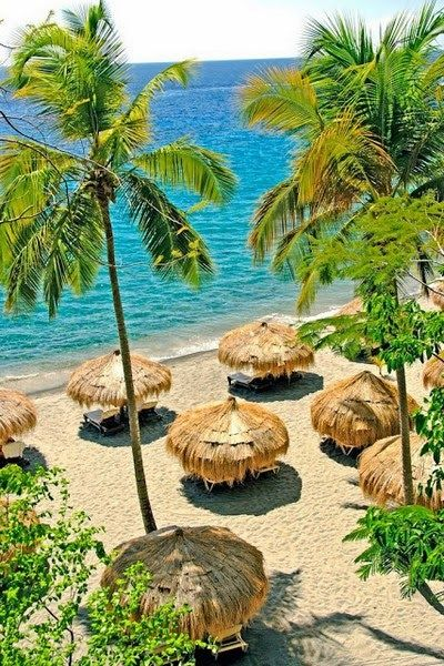 Caribbean Tourism Attracts - Anse Chastanet Resort, St.Lucia- Carribean