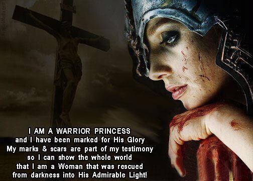 gods warrior princess | CPR Ezra 8:23: Warrior Princess