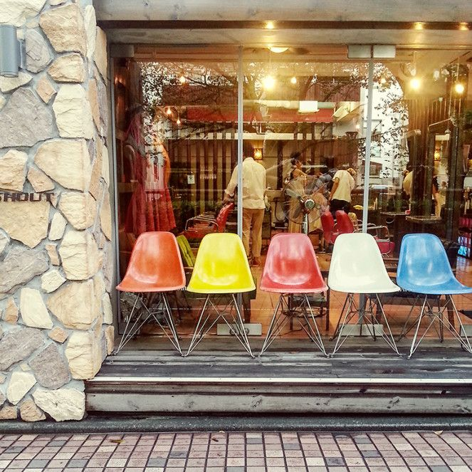 colours in Tokyo. Photo: Heather Moore