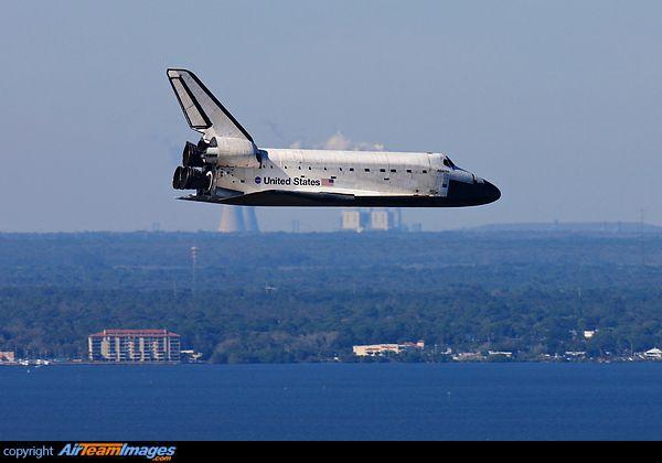 nasa space shuttle landing on earth -#main