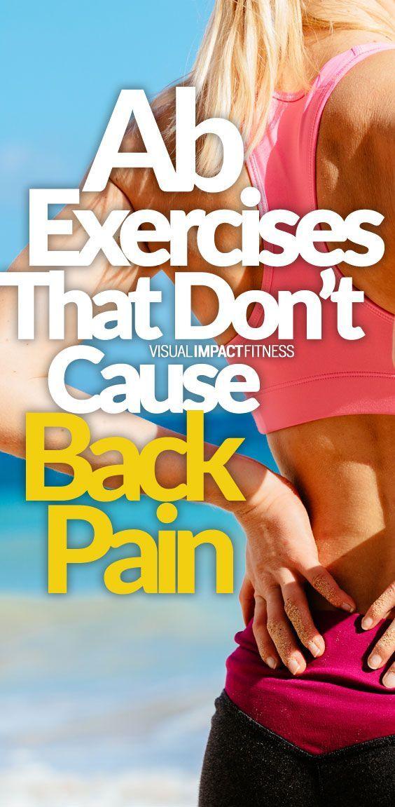 back pain exercises machine