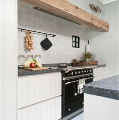 keuken met houtenbalk - Google zoeken
