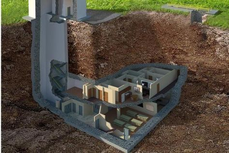 Look at these examples of hidden underground survival shelters that preppers are building across the country.