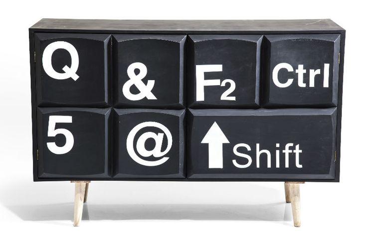 Σαλόνι :: Διάφορα Έπιπλα :: Ντουλάπι Keyboard 2 Πόρτες